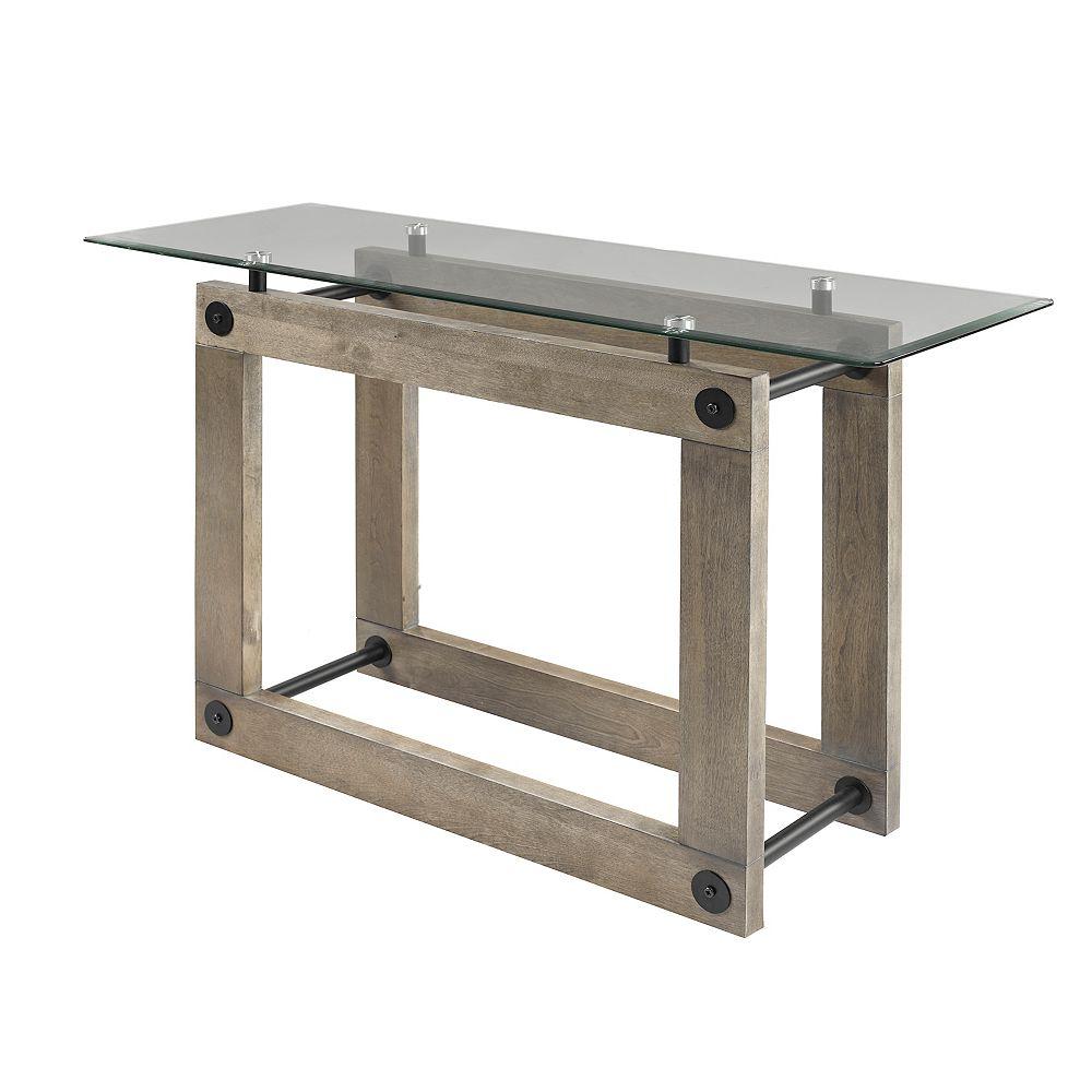 Brassex Inc. Table de canapé, Brun