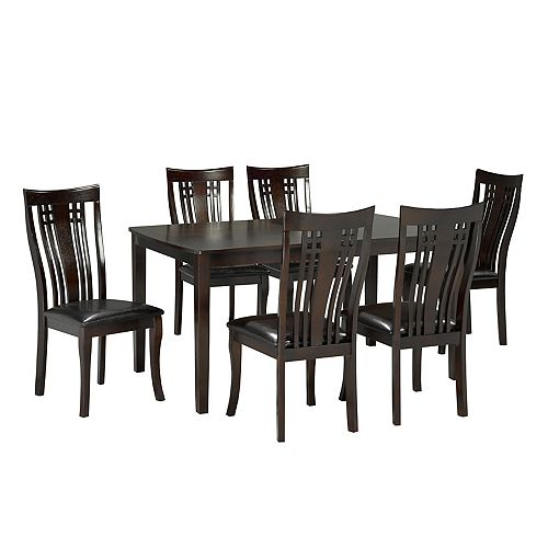 Fairmont 7-Piece Kitchen Set, Espresso