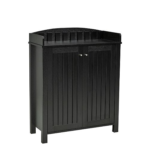 Shoe Cabinet, Black