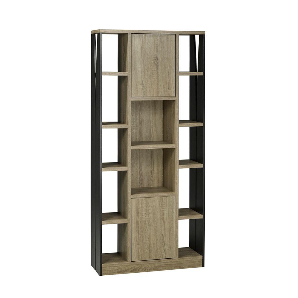 Brassex Inc. Multi-Tier Display Cabinet