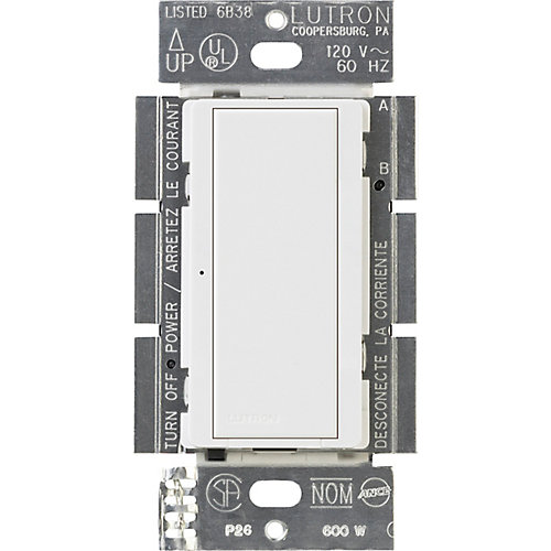Maestro 8 Amp Multi-Location Digital Switch, White