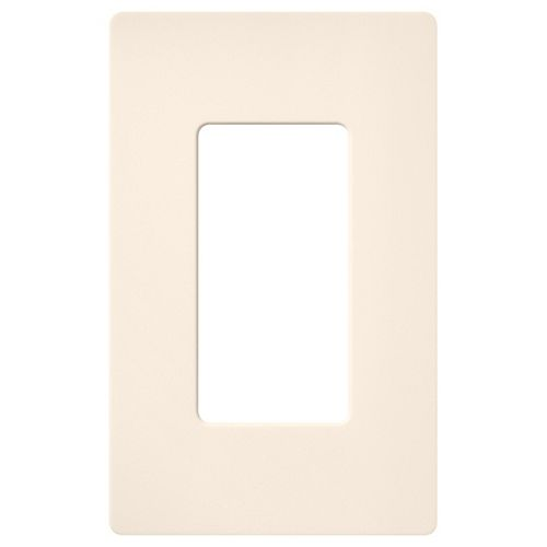 Lutron Plaque murale simple Claro 1-Gang, Eggshell