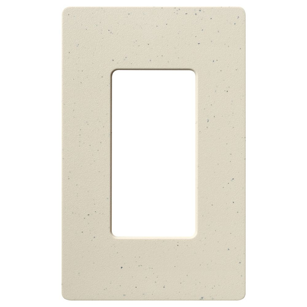 Lutron Plaque murale simple Claro 1-Gang, Stone