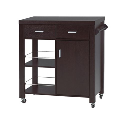 Kitchen Cart, Expresso