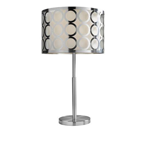 Lampe de table Brassex 27 po en métal