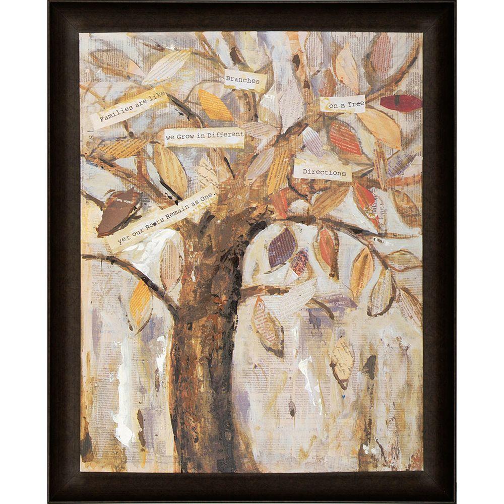 Art Maison Canada Wise Tree III by Tina O. Framed Original Painting