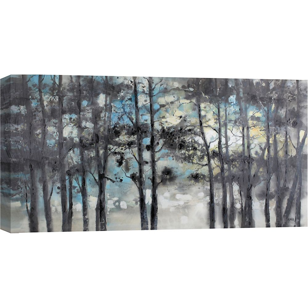 Art Maison Canada Forest Twilight by Anastasia C. Painting Print on Wrapped Canvas