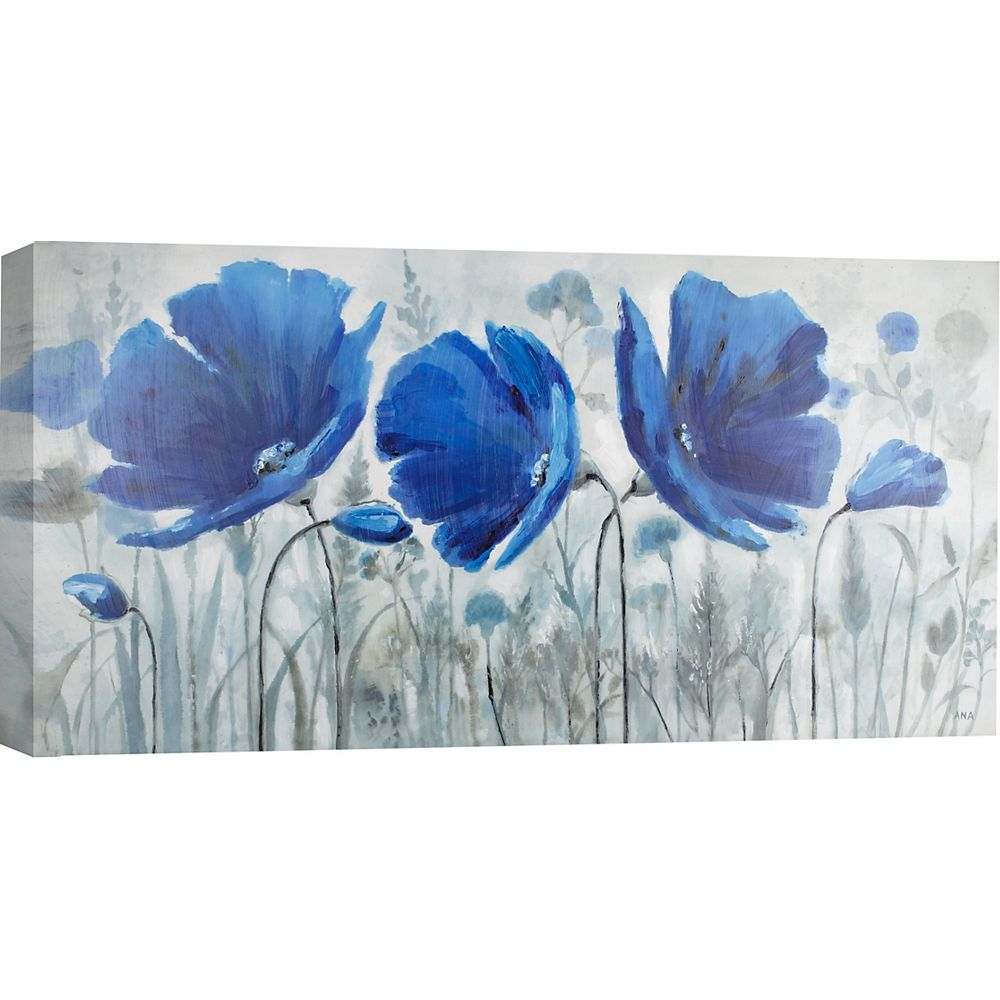 Art Maison Canada Blue Melody by Anastasia C. Painting Print on Wrapped Canvas