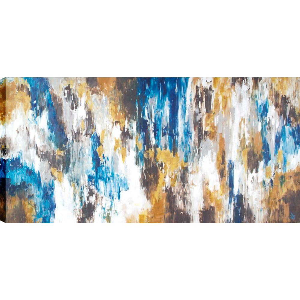 Art Maison Canada Abstract Vibration by Sanjay B Patel Painting on Wrapped Canvas