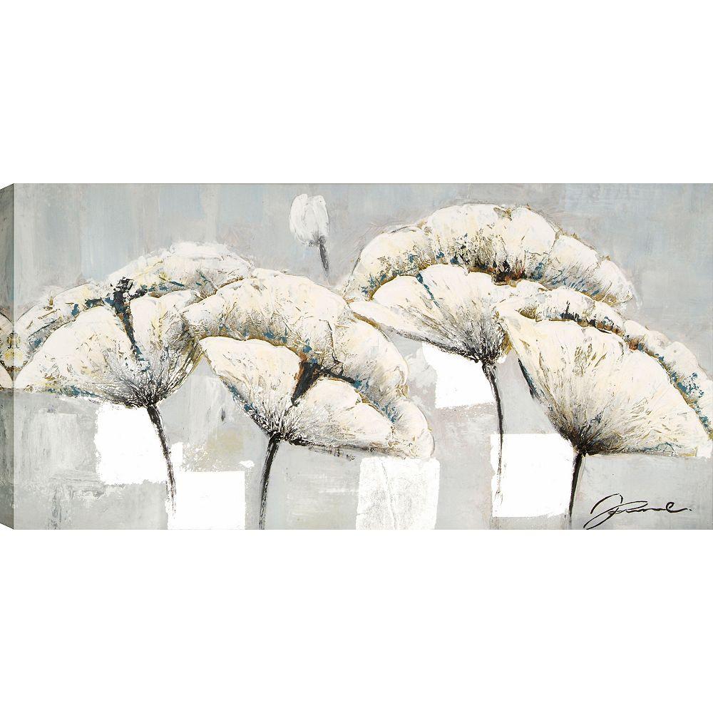 Art Maison Canada Se penchant Arrangement par Jamie Original peinture sur toile enveloppé