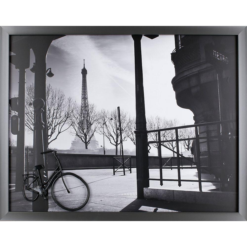 Art Maison Canada Paris Bike par P.T. Turk encadré tirage photographique