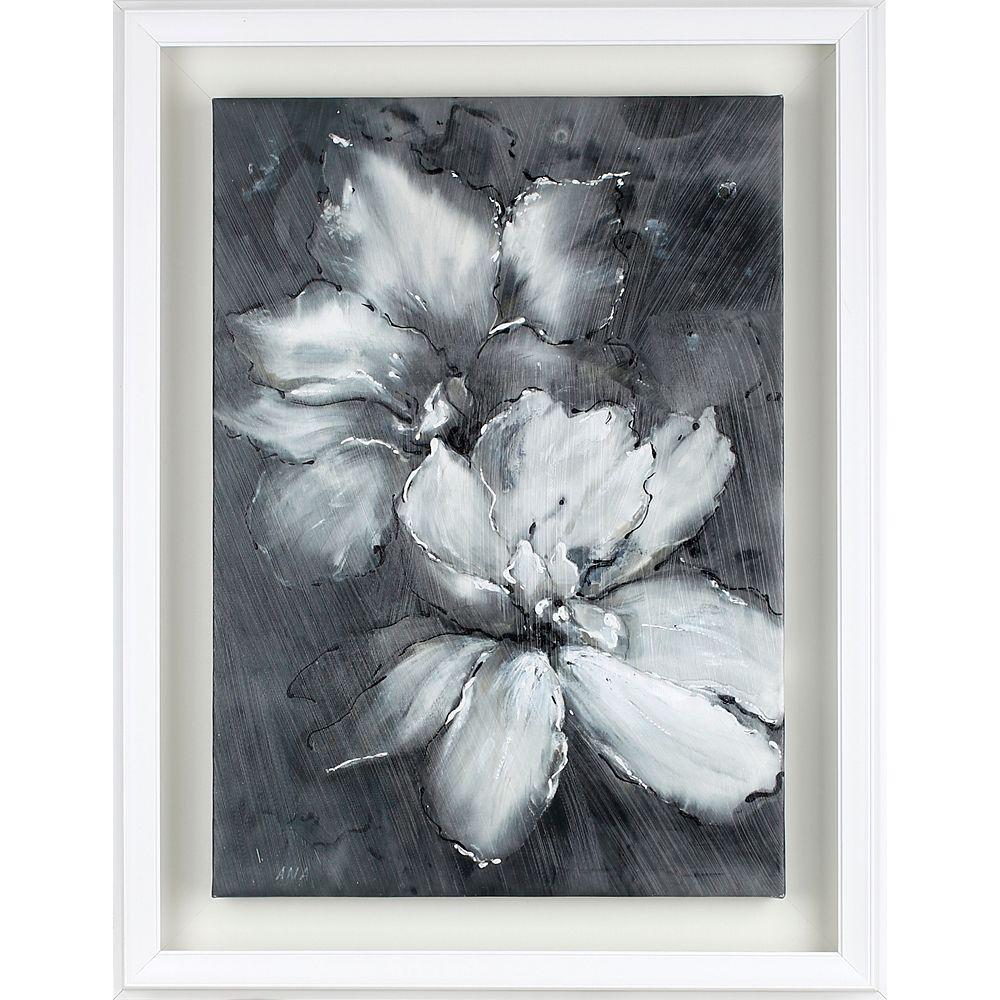 Art Maison Canada Ombre Floral I par C. Anastasia encadré peinture impression sur toile enveloppé