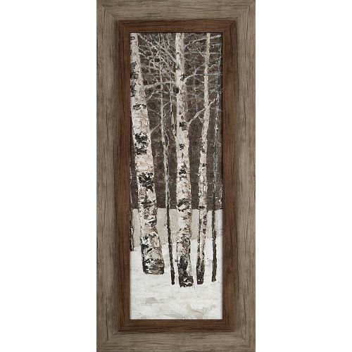 Tree in Winter I by Tina O. Framed Painting Print