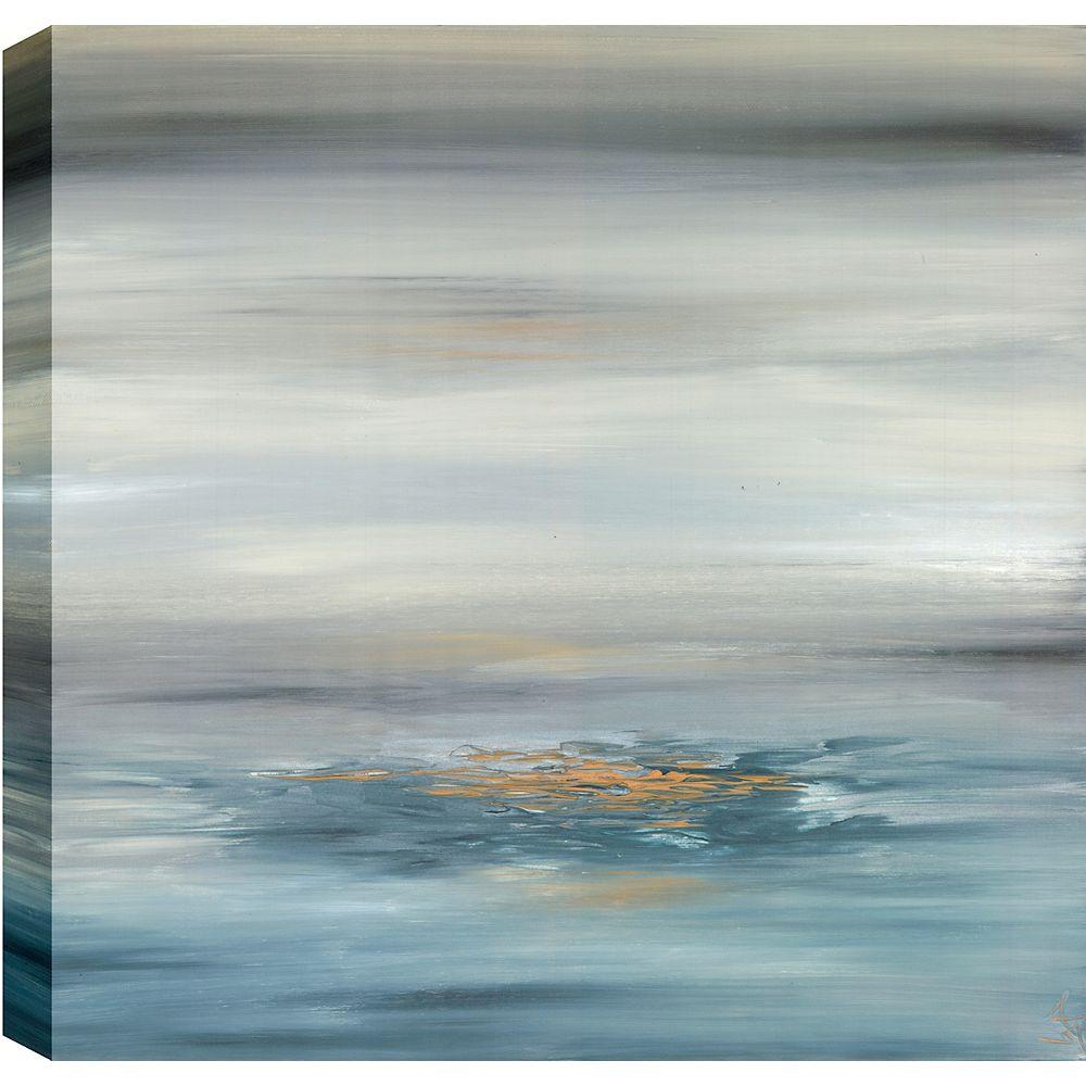 Art Maison Canada Abstrait, nuageux, Gallary enveloppé ArT mur de toile 24 X 24