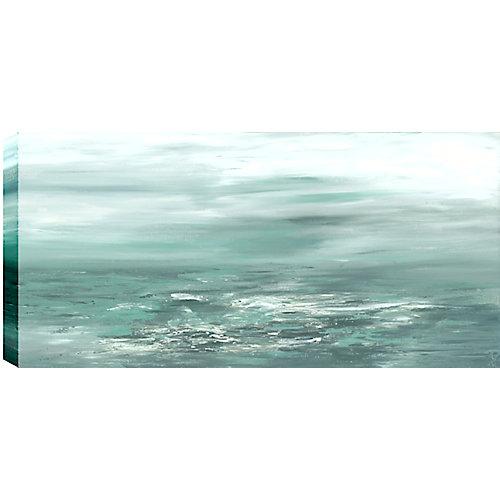 Enveloppé de verdure II Résumé, Gallary Art mur de toile 24 X 36