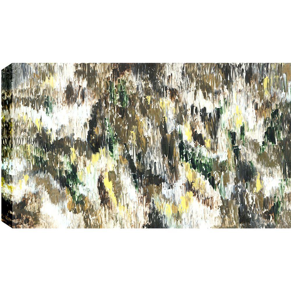 Art Maison Canada Résumé de Brocéliande, Gallary enveloppé Art mur de toile 30 X 40