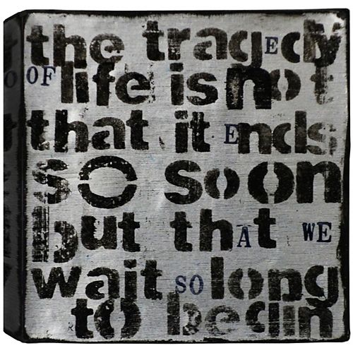Tragedy of Life, Abstract, Canvas Print Wall Art 24X24