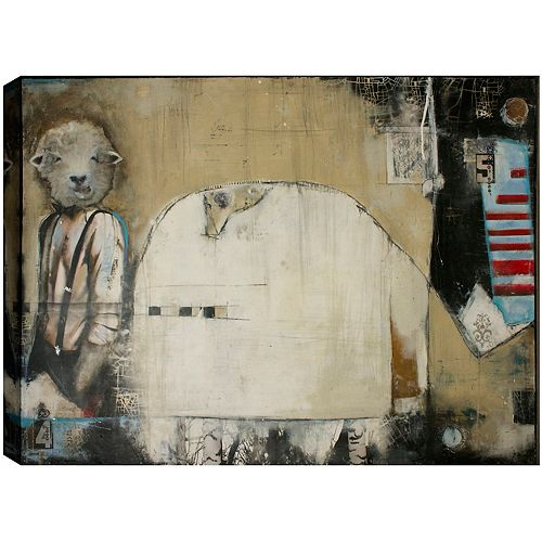 There's something about Steeve, Canvas Print Wall Art 30X40