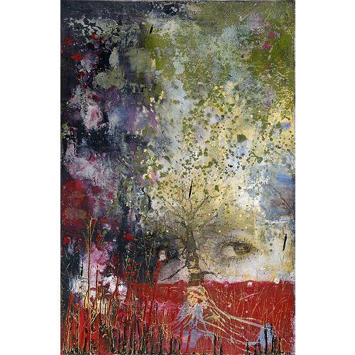 Art Maison Canada Awakening, Abstract, Canvas Print Wall Art 34X46