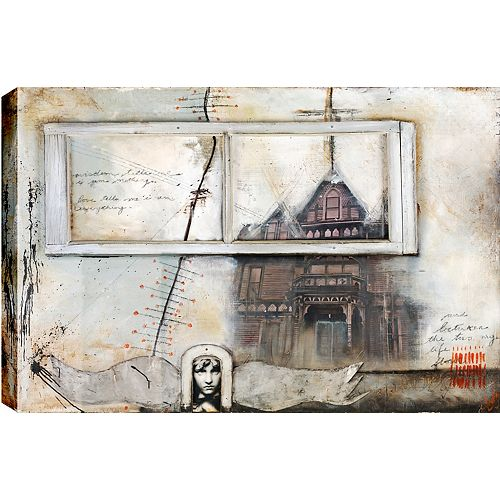 Art Maison Canada Sanctuary, Abstract, Canvas Print Wall Art 34X46