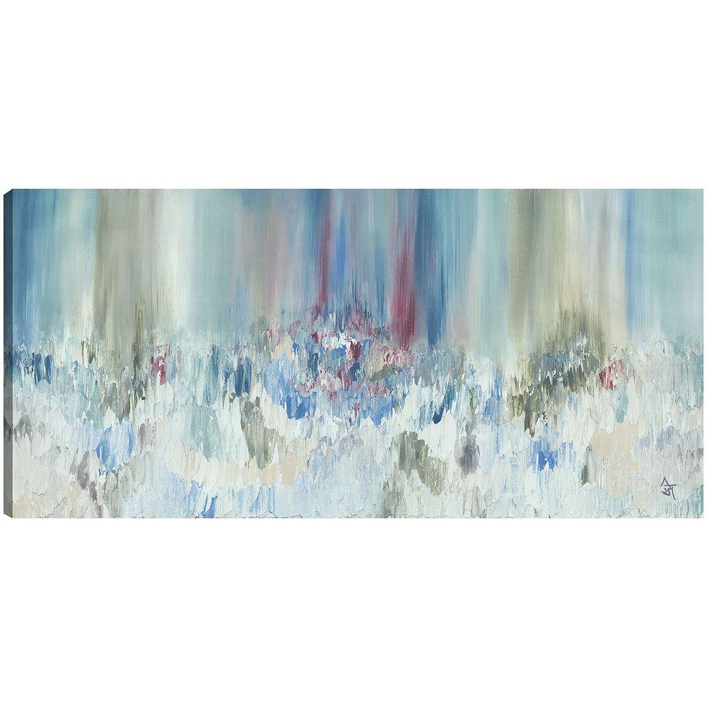 Art Maison Canada Vision sombre, abstrait, Gallary toile enveloppé Wall Art 18 X 24