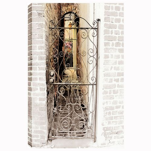 Entrance I' Photographic Print on Wrapped Canvas