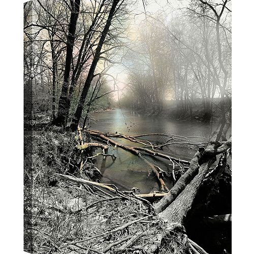 The Lake' Photographic Print on Wrapped Canvas