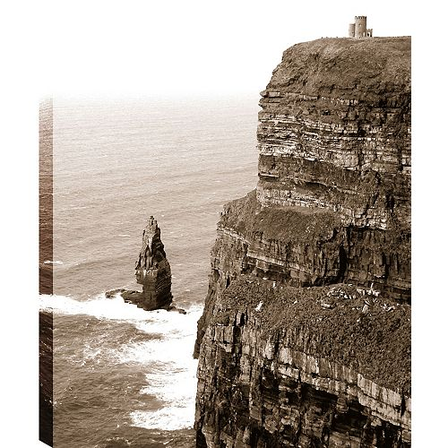 On the Height' Photographic Print on Wrapped Canvas