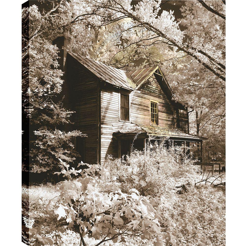 Art Maison Canada Intérieur Lane' épreuve photographique sur toile enveloppé