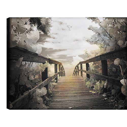 Bridge' Photographic Print on Wrapped Canvas