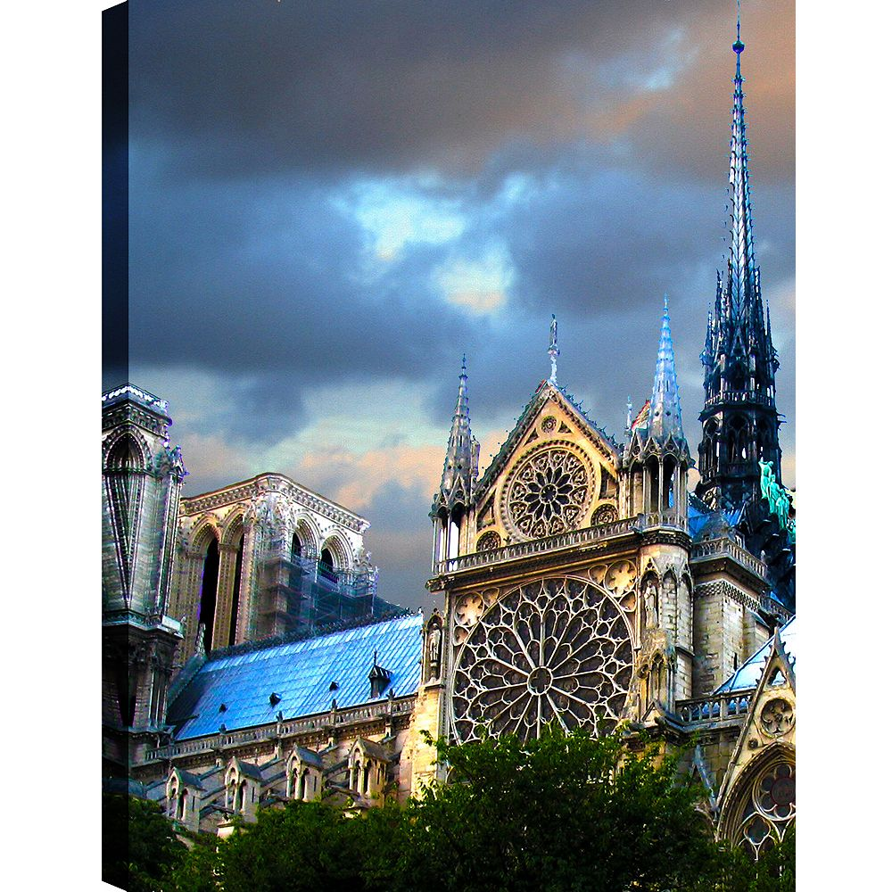 Art Maison Canada Touch The Sky' Photographic Print on Wrapped Canvas