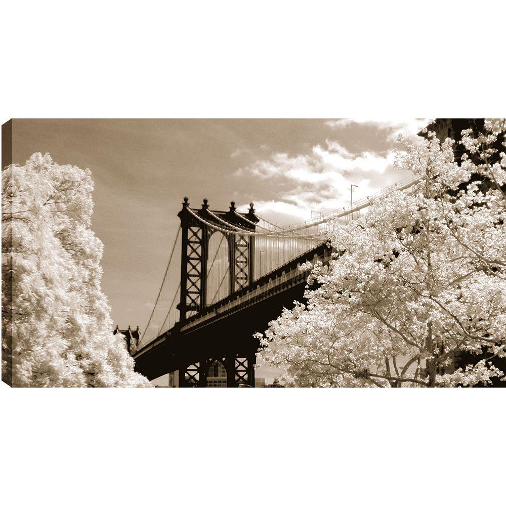 Art Maison Canada Sky Bridge' Photographic Print on Wrapped Canvas