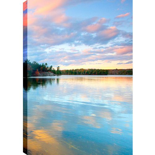 Clear Sky Reflections I' Photographic Print on Wrapped Canvas