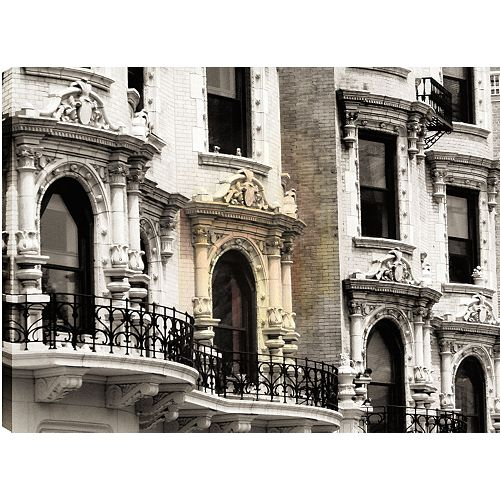 Architecture'Photographic Print on Wrapped Canvas