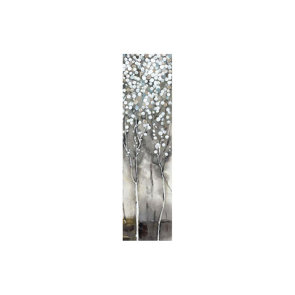 Art Maison Canada Arbre fleurs II blanches ' peinture impression sur enveloppé de toile