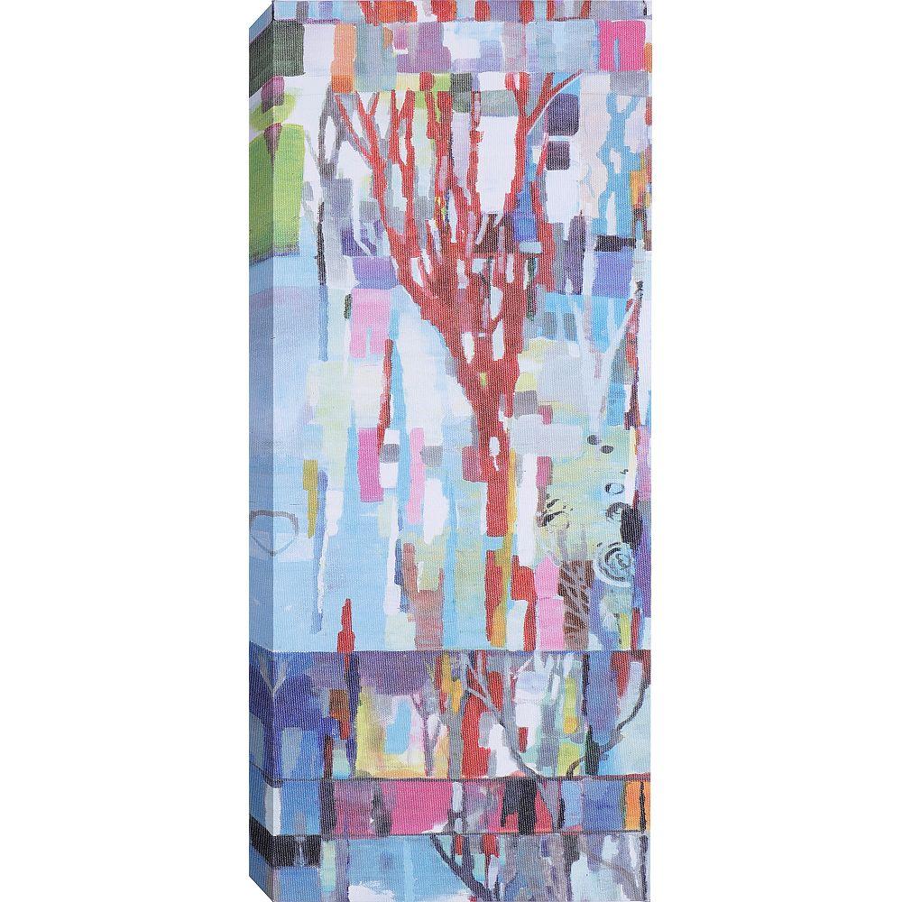Art Maison Canada « Abstract Branches II » par Anastasia C. peinture impression sur toile enveloppé