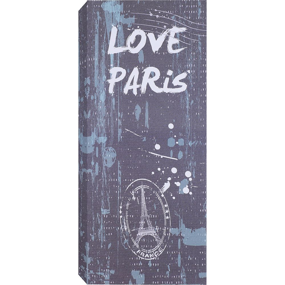 Art Maison Canada Love Paris Graphic Art on Wrapped Canvas