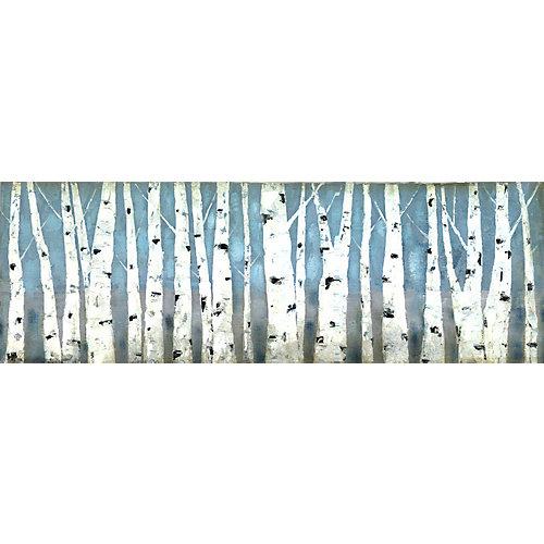Peinture impression des Branches d'arbre blanc sur toile enveloppé
