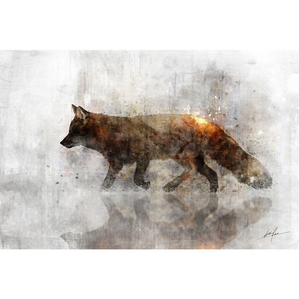 Art Maison Canada Animal I Wall Art on Wrapped Canvas