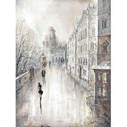 Amsterdam amateurs VI' peinture impression sur enveloppé de toile
