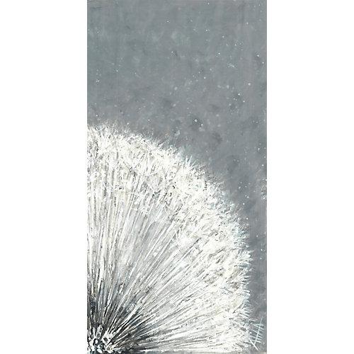 Bouffée de fleur IIpeinture impression sur toile enveloppé