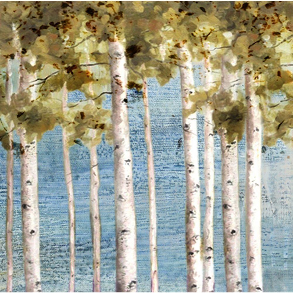 Art Maison Canada Bel arbre Découvre peinture impression sur toile enveloppé