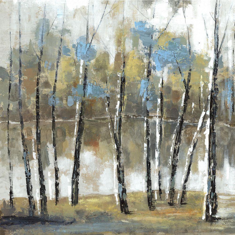 Art Maison Canada J'ai du paysage ' peinture impression sur enveloppé de toile