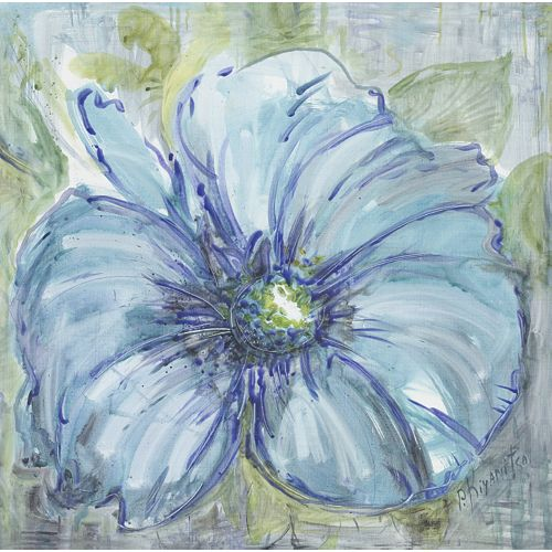 Floral Sketch' Painting Print on Wrapped Canvas