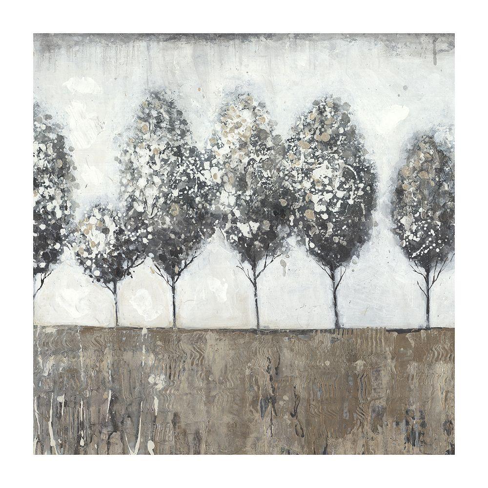 Art Maison Canada Arborescence II' peinture impression sur enveloppé de toile