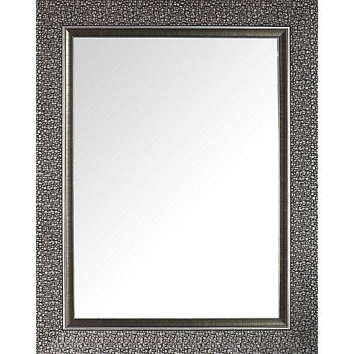 Designer Mosaic Silver Beveled Mirror 27X35 (Inner mirror 20X28)
