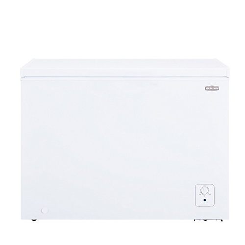 Deluxe 9 cu.ft. White Chest Freezer