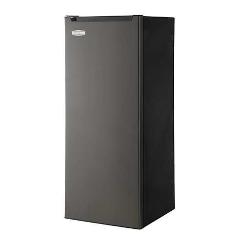 6.5 cu. ft. Upright Freezer in Black Steel Finish - ENERGY STAR®
