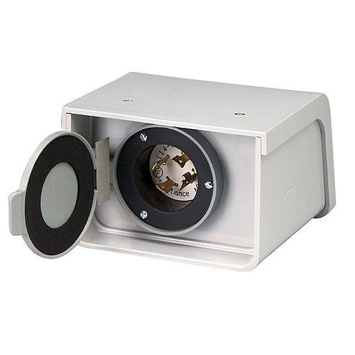PBN20 20-Amp L14-20 Outdoor Non-Metallic Power Inlet Box