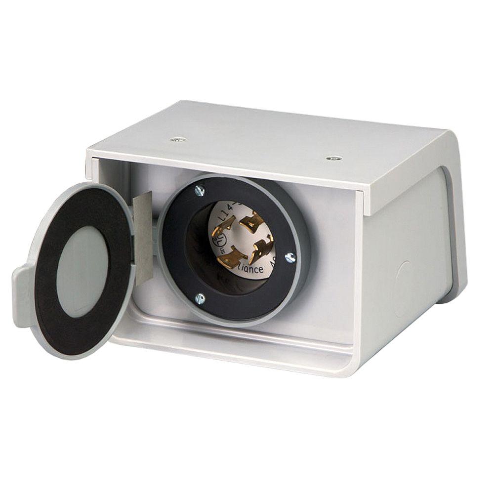 Reliance Controls PBN30 30-Amp L14-30 Outdoor Non-Metallic Power Inlet Box